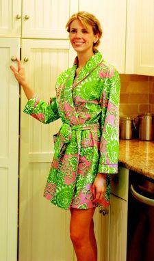 malabar bay:  organic cotton robes