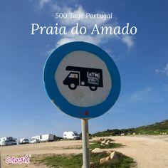 Praia do Amado, ein beliebter Strand bei Surfern und Aussteigern an der Algarve, bei Carrapateira.