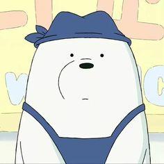 Ice Bear Bear Wallpaper, Cute Wallpaper Backgrounds, Wallpaper Iphone Cute, Cute Wallpapers, Bear Cartoon, Cartoon Pics, Cute Cartoon, Ice Bear We Bare Bears, We Bear