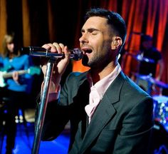 Adam Levine performs for an exclusive iheartradio performance.