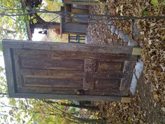 Pretend that this door leads to a different place. Where would you go when you walk through it? Tell the story.