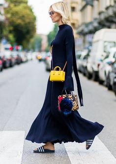 23 Jaw-Dropping Street Style Looks From Milan Fashion Week via @WhoWhatWearUK