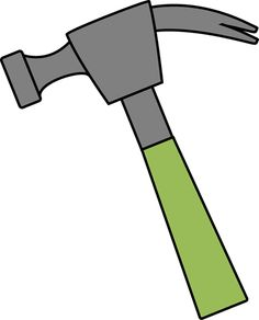 image result for hammer clip art construction watsa pinterest rh pinterest com clipart hammer outline clipart hammer and hand silhouette