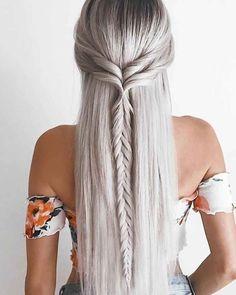 30 lange Frisuren und Frisuren für Frauen, um wunderschön aussehen  #aussehen ...
