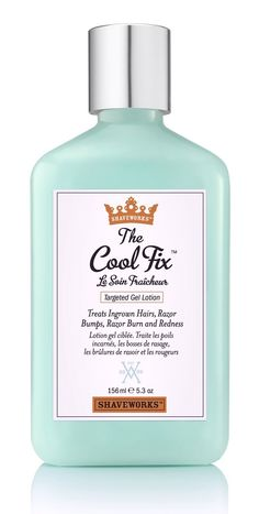 This will solve all your razor burn issues. // The Cool Fix by Shaveworks