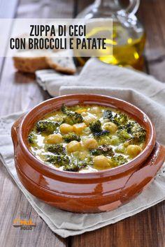 Brunch Recipes, Soup Recipes, Vegetarian Recipes, Cooking Recipes, Healthy Recipes, Italian Soup, Italian Recipes, Confort Food, Eating Light