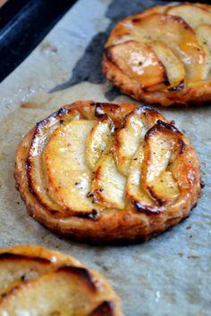 Apple and Vanilla Tartes Fines | A Dutchie Baking