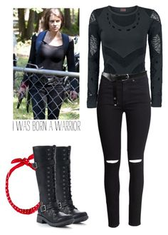 Maggie Greene - twd / the walking dead by shadyannon on Polyvore featuring polyvore fashion style H&M UNIONBAY ASOS clothing