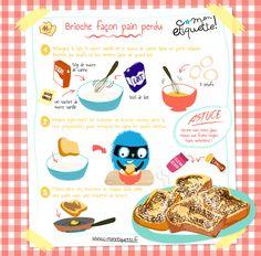 Découvrez tous nos ateliers recette pour cuisines avec les enfants. Facile et éducative, à télécharger gratuitement ! Easy Cooking, Cooking Tips, Cooking Recipes, Healthy Recipes, Healthy Toddler Breakfast, Drink Recipe Book, Baking With Kids, French Food, Sachets