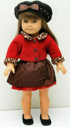 American Girl Doll Josefina Retired Winter Wear Accessories BLACK HAT ONLY PC