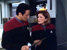 Chakotay and Janeway