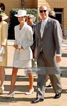 Crown Princess Victoria & Prince Albert Of Monaco Attend The Wedding Of Infanta Cristina Of Spain And Inaki Urdangarin At Barcelona Cathedral.