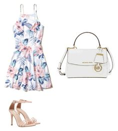 """""""Summer party"""" by jen-jennis on Polyvore featuring moda, Hollister Co. e Michael Kors"""