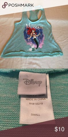Little mermaid blouse Disney the little mermaid blouse Tops Muscle Tees