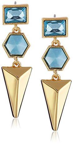 Trina Turk The Modernist Gold-Plated Triple-Drop Earrings Trina Turk http://www.amazon.com/dp/B00PVV7BKK/ref=cm_sw_r_pi_dp_u2Dwvb09PBJRA