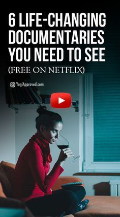6 Life-Changing Documentaries On Netflix Every Yogi Needs to See! - 6 Life-Changing Documentaries On Netflix Every Yogi Needs to See! Informations About 6 Life-Changing - Good Documentaries To Watch, Netflix Documentaries, Most Interesting Documentaries, Health Documentaries, Movies Showing, Movies And Tv Shows, Best Tv Shows Netflix, Tv Series On Netflix, Tv Series To Watch