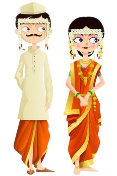 Illustration about Easy to edit vector illustration of Sikh wedding couple. Illustration of bridal, dress, attractive - 30667129