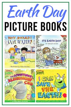 This list of Earth Day books for preschoolers is perfect for helping your little ones learn more about and celebrate Earth Day! Earth Day Preschool Activities, Preschool Transportation Crafts, Art Therapy Activities, Art Activities For Kids, Preschool Books, Science Activities, Preschool Worksheets, Science Projects, Earth Day Pictures