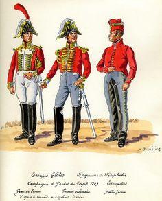 Trombe della compagnia delle guardie del corpo del regno di Westfalia