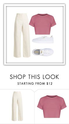 SCHOOL by anne-maren-weisser-fredriksen on Polyvore featuring BasicGrey, The Row and Puma Basic Grey, The Row, Polyvore Fashion, Ootd, School, Style, Swag, Outfits