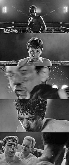 """You never got me down, Ray!""  - Raging Bull (1980)"