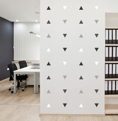 Mini-Pack - Triangle Mount Wall Decal !!