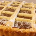 Receta de pasta frola de dulce de leche esponjosa Decadent Cakes, Cake Cookies, Apple Pie, Food To Make, Bakery, Cheesecake, Lemon, Cooking, Desserts