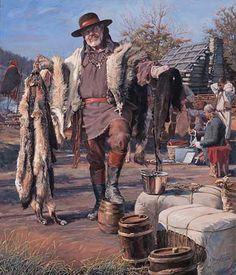 fur traders | The Fur Trader by John Buxton