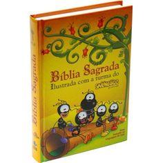 Bíblia Sagrada NVI Ilustrada com a Turma do Smilinguido - Capa Dura