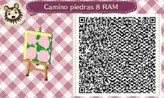 Este es un QR Code para Animal Crossing, creado por mí; como podéis observar, es un camino de piedras. [8-9]  Lo podéis encontrar en mi canal de YouTube: https://www.youtube.com/channel/UCh6uwa2CjSgR4WQ-ghRQY6Q (Roxy).  ¡Espero qué os guste! ;)