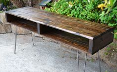 Industrial Modern Rustic Pallet Style TV Stand