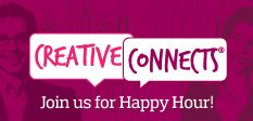 Creative Connects a happy hour networking event brought to you by the BOSS group