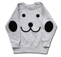 Sweater Hektik Light Grey www.bmini.be