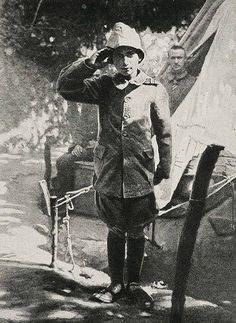 Ali Reşat Çavuş, A Young Volunteer Soldier (15 years old) in the Ottoman Army, Gallipoli War (Çanakkale Savaşında Osmanlı Ordusunda Gönüllü Bombacı olan 15 yaşındaki Ali Reşat Çavuş)