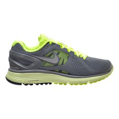 best sneakers 0010d e7fa5 Nike Lunar Eclipse +2 Women s Shoes Grey Silver Volt 487974-002 Comfort  Shoes