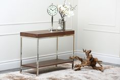 Our beautiful new console table photographed in our brand new high-tech photography studio!