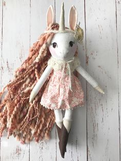 Hey, I found this really awesome Etsy listing at https://www.etsy.com/uk/listing/576024051/unicorn-doll-handmade-heirloom-doll-in