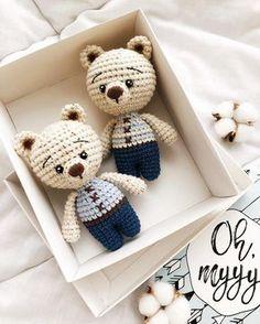 Little bears amigurumi pattern #amigurumi #amigurumipattern #crochettoy