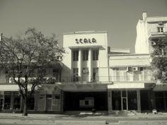 A fachada do Cinema Scala.