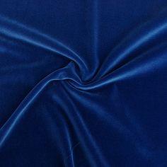 Cotton Velvet 8 - royal blue - Christmas - Fabrics - Christmas - Catalogue - Fabrics 1920-1929 - Oktoberfest - Fabrics - Cotton Velvet - myfabrics.co.uk
