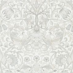 The Original Morris & Co - Arts and crafts, fabrics and wallpaper designs by William Morris & Company | Products | British/UK Fabrics and Wallpapers | Pure Lodden (DMPU216030) | Pure Wallpapers