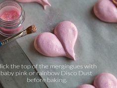 Meringue Heart Cookies!