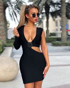 "175bc973e23f Sitora Banu on Instagram  ""Back to black 🖤 . Dress by  catwalk connection  🖤 . ."""