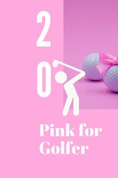 Pink Golf Gifts for Lady Golfer