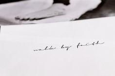Our Reflection: Tattoo: Walk by Faith