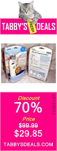 Exergen Temporal Artery Thermometer MODEL# TAT-2000C $29.85