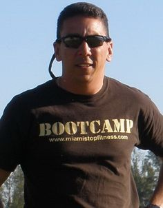 Alain Alvarez Fitness pro boot camp