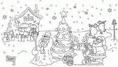 XMAS COLORING PAGES | Laser Ideas | Pinterest | Xmas, Craft ...