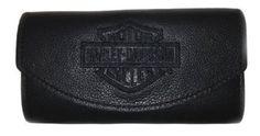 Harley-Davidson® Women's Trifold Leather Organizer Clutch Wallet. LO810H-2B Harley-Davidson. $25.95