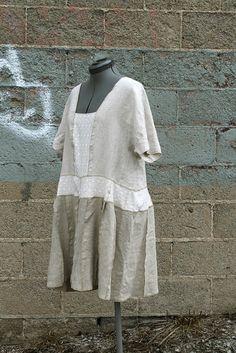 Secret Lentil linen tunic